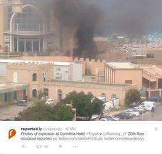 Tote bei Attentat auf Luxushotel in Tripolis - Sehen Sie den Bericht bei HOTELIER TV: http://www.hoteliertv.net/hotel-crime/tote-bei-attentat-auf-luxushotel-in-tripolis