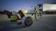 Tortuga Trikes is raising funds for Tortuga Trikes gas powered drift trike on Kickstarter! We build gas powered, rear-wheel drive drift trikes capable of supporting weights in excess of and a top speed of 30 mph. Scooter Bike, Trike Motorcycle, Adult Power Wheels, Gas Powered Drift Trike, Drift Kart, Drift Trike Frame, Drift Trike Motorized, Best Drift, Car Experience