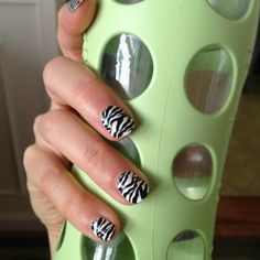Fun finger nails : )