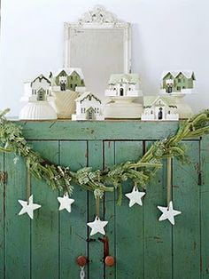 Love the garland and stars