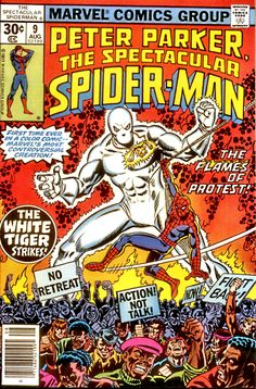 white tiger marvel | White Tiger would continue making sporadic appearances in the Marvel ...