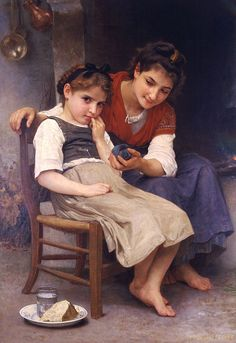 The Little Sulk by William-Adolphe Bouguereau