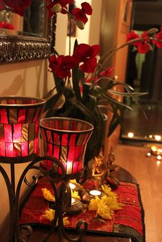 1000 images about diwali decor ideas on pinterest for Room decoration ideas in diwali