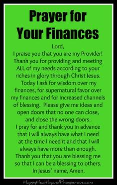 prayer for finances Prayer for Your Finances - Happy, Healthy amp; Prayer Scriptures, Bible Prayers, Faith Prayer, God Prayer, Prayer Quotes, Catholic Prayers Daily, Power Of Prayer, Faith Bible, Prayer For Finances