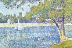 The Seine by the Island of Jatte. Georges-Pierre Seurat (2 December 1859 – 29…