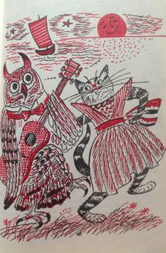The Owl and the Pussycat From Best in Children's Books 1957