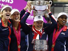 United States Ends 17-Year Drought With Fed Cup Victory - ://www.nytimes.com/2017/11/12/sports/tennis/fed-cup-final.html ...United States edge Belarus to claim 18th Fed Cup | Syspoly News  Syspoly News-  #CaptRinaldi