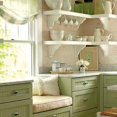 "Loving the shelf ""goodies"". :)"