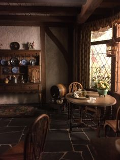 adesignresearcher: inglese Cottage Kitchen, 1702-1714 (particolare).  Camera Thorne, Art Institute of Chicago.  Foto David Claudon.