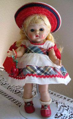 Vintage Vogue Strung Ginny Doll Sweet Rare outfit | Ginny Dolls | Pinterest | Vintage Vogue, Vogue and Dolls