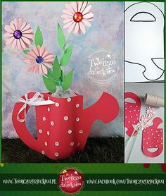 Diy And Crafts, Crafts For Kids, Arts And Crafts, 8 Martie, Mothering Sunday, Mothers Day Crafts, Student Gifts, Flower Decorations, Fathers Day