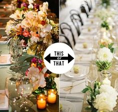 This or That: Colorful or Neutral Wedding Colors