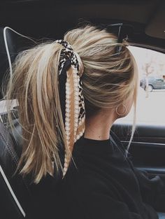My hair goals Messy Hairstyles, Pretty Hairstyles, Hairstyle Ideas, Bandana Hairstyles For Long Hair, Fantasy Hairstyles, Headband Hairstyles, Super Easy Hairstyles, Hairstyles 2018, Summer Hairstyles