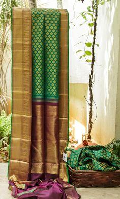 KANCHIVARAM SILK L04228 | Lakshmi