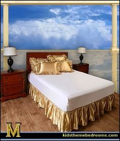 Gold Satin bedding!!!! Awesome!