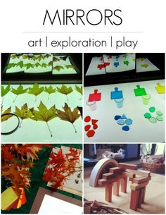 Using Mirrors in Art, Exploration and Play | Day 22 - 30 Days to Transform Your Play {An Everyday Story}