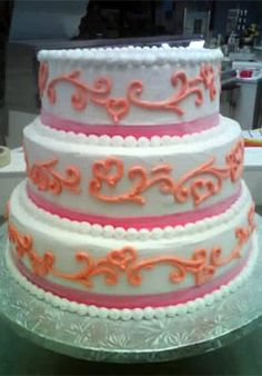 Carvel Ice Cream Wedding Cakes - Delaware
