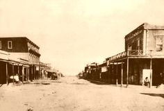The Old West town of Tombstone Colt 45, Old West Outlaws, Old Western Towns, Westerns, Old West Town, Old West Photos, Tombstone Arizona, Wyatt Earp, Into The West