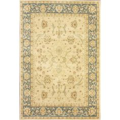 nuLOOM Traditional Ziegler Mahal Slate Rug (7'10 x 11') | Overstock.com Shopping - Great Deals on Nuloom 7x9 - 10x14 Rugs