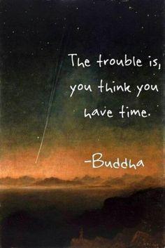 3. I always think I don't have time. Something I struggle with.