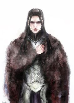 Of [Ulmo guiding Turgon to a hidden location, Turgon] spoke to none as yet, but returned once more to Nevrast, and there began in his secret counsels to devise the plan of a city after the manner of Tirion upon Túna, for which his heart yearned in exile. ~ The Silmarillion, Chapter 13 (Turgon in Helcaraxe by daLomacchi on deviantART)