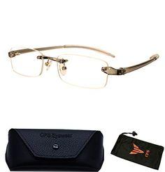 3b919eaa43f 1 Pair Metal Rimless Frameless Squared Rectangular Shape Reading Glasses  Readers For Men Women Unisex Strength