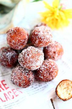 Pikamunkit eli helpot rahkamunkit - Suklaapossu Doughnut, Deserts, Goodies, Food And Drink, Gluten Free, Treats, Baking, Sweet, Recipes