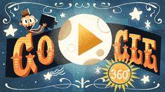 Homenaje a Georges Méliès Google Doodles, Logo Google, Art Google, French Film, Spotlight Stories, Back To The Moon, Display Block, Doodle Art Journals, Clipart Black And White