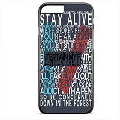 Twentyone Pilots Quotes TATUM-11491 Apple Phonecase Cover For Iphone SE Case