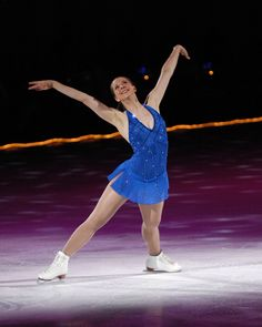 figure skating - Google Search-Blue Figure Skating / Ice Skating dress inspiration for Sk8 Gr8 Designs.