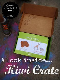A Look Inside Kiwi Crate / an in depth review www.queenofthelandoftwigsnberries.com