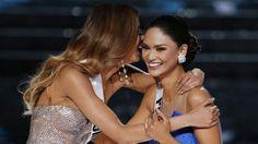 Miss Filipinas Pia Alonzo Wurtzbach es la nueva Mis Universo 2015. (Foto AP)