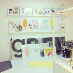 Mimmistaaf shop. Parro, Chick & Colibri Silke Bonde Graphic Design