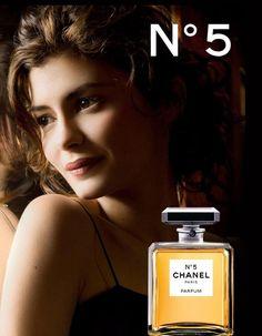 Chanel numero 5 - Audrey Tautou - photo Dominique Issermann 2012