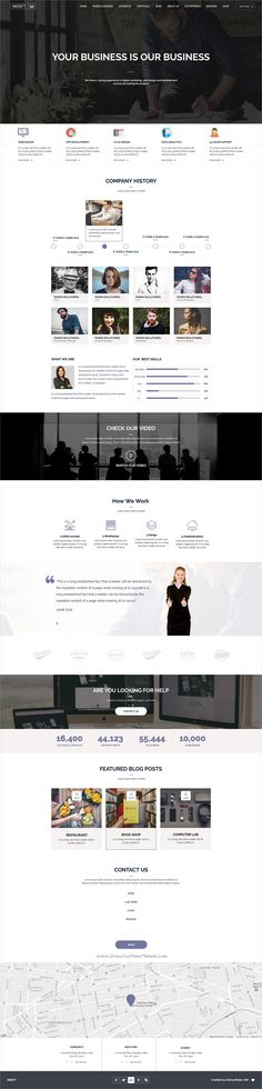 Meryt is clean and modern design multipurpose #Photoshop template for stunning #business website with 10 unique homepage layouts and 50+ layered PSD files download now➩ https://themeforest.net/item/meryt-multipurpose-psd-template/19857111?ref=Datasata