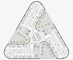 Justine Huang's media statistics and analytics Office Building Plans, Building Design Plan, Plan Design, Architecture Concept Drawings, School Architecture, Architecture Plan, Hospital Plans, Hotel Floor Plan, Architectural Floor Plans