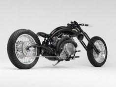 Vincent Black Shadow Chopper