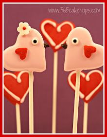 Every Day Should Pop!: Love Bird Cake Pops - Part 1