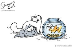 Simon's Cat videos and comics #catsfunnyvideos