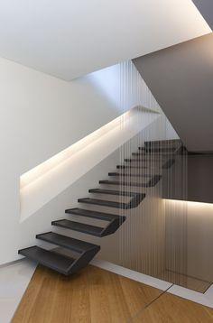 Floating Stairs By Kuadra Studio