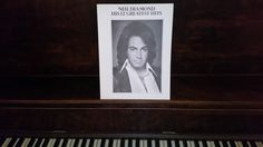Neil Diamond vintage songbook/sheet music 1974 His 12 Greatest Hits