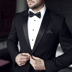 Lessons Learned from Body Language is part of Black tuxedo wedding - We discuss confidence and What We Can Learn from James Bond's Body Language as agent 007 Black Tuxedo Wedding, Black Tie Tuxedo, Classic Tuxedo, Tuxedo For Men, Black Suits, Tuxedo Man, Black Suit Groom, Black And White Tuxedo, Burgundy Wedding