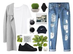 """#48"" by iamaunicornx3 ❤ liked on Polyvore featuring T By Alexander Wang, Chicnova Fashion, Tsovet, NIKE, adidas and Darphin"