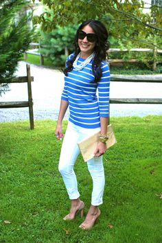 how to wear pearls with jeans - Google Search