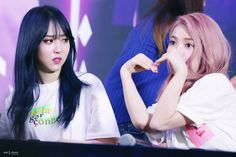 Moonbyul and Solar Meme Faces, Funny Faces, South Korean Girls, Korean Girl Groups, I Love My Wife, My Love, My Girl, Cool Girl, Yuri