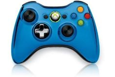 Outshine the competition and play in style with an Xbox 360 Special Edition Chrome Series Wireless Controller.