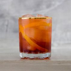 Negroni Sbagliato (Broken Negroni) | SAVEUR - MAKES ONE COCKTAIL  INGREDIENTS 1 oz. Campari 1 oz. prosecco 1 oz. sweet vermouth Orange twist, for garnish INSTRUCTIONS Stir Campari, prosecco, and vermouth in a rocks glass filled with ice; garnish with orange twist.