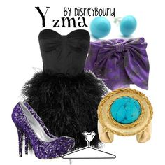 Yzma- The Emperor's New Groove, created by lalakay.polyvore.com