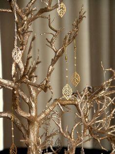 Fall/Autumn Wedding Favor, Wishing Tree, Fall Leaves, Wedding Wish Tree on Etsy, $215.00