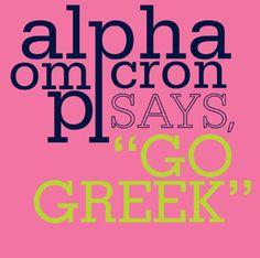 AOII go Greek AOII http://www.greekt-shirtsthatrock.com/